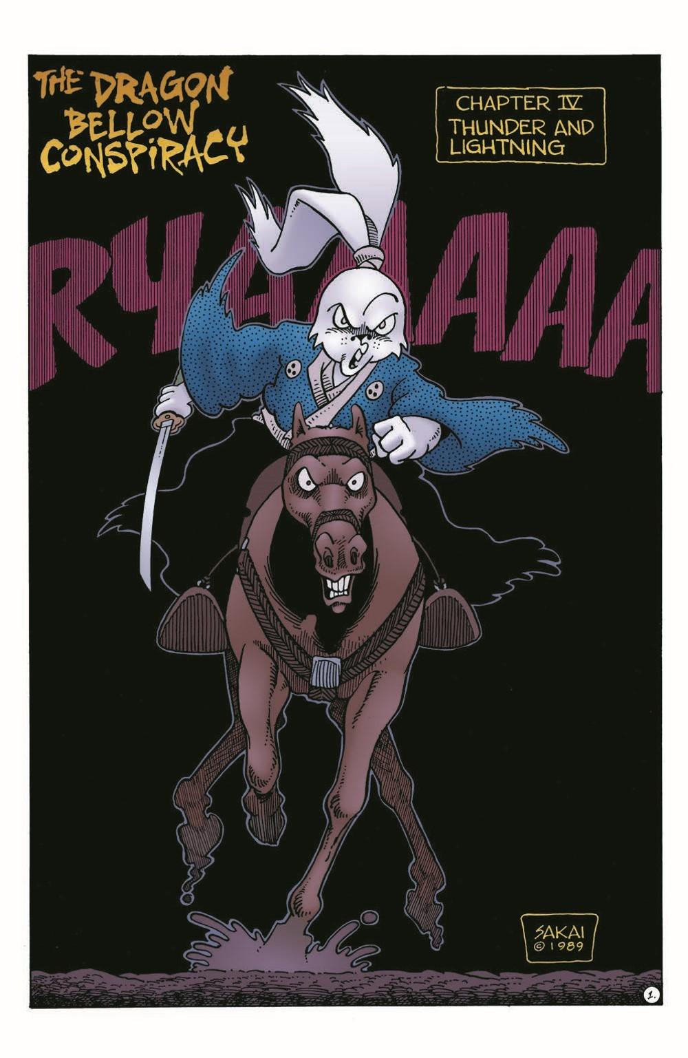 Usagi-DBC04_pr-3 ComicList Previews: USAGI YOJIMBO THE DRAGON BELLOW CONSPIRACY #4 (OF 6)