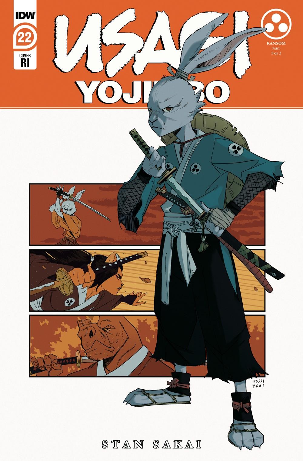 Usagi22_cvrRI ComicList: IDW Publishing New Releases for 09/15/2021