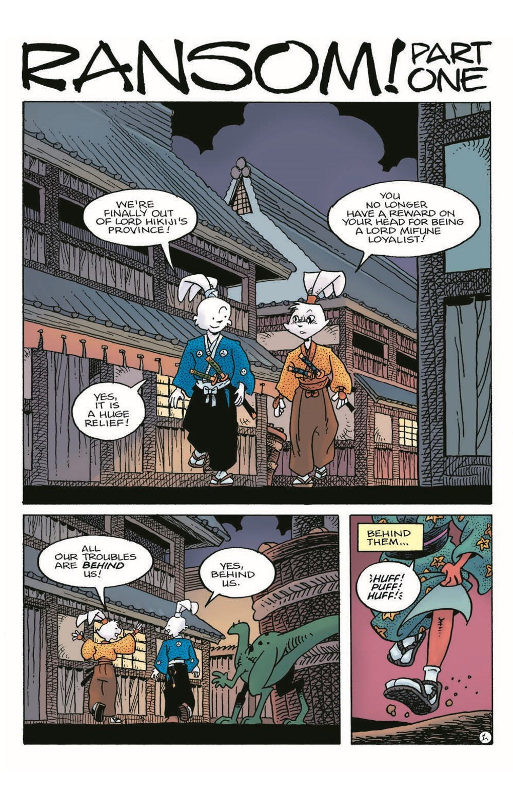 Usagi22_pr-3 ComicList Previews: USAGI YOJIMBO #22