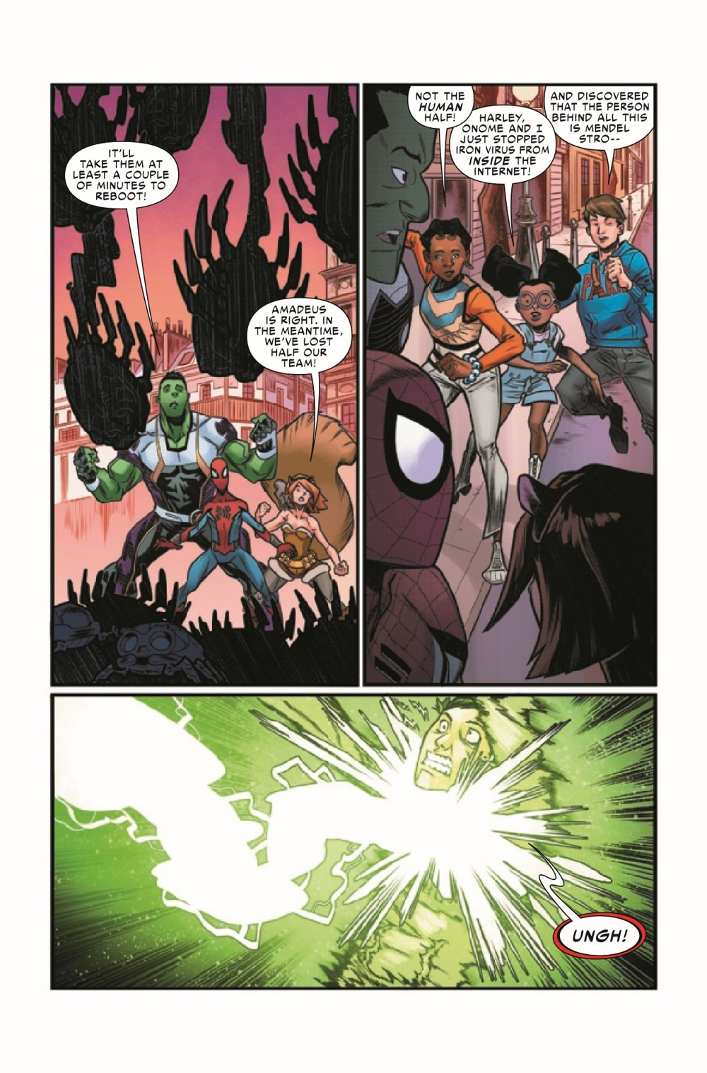 WEBOFSM2020005_Preview-5 ComicList Previews: W.E.B. OF SPIDER-MAN #5 (OF 5)