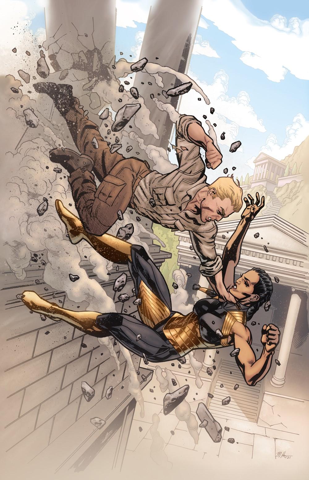 WWEvolution_Cv2 DC Comics December 2021 Solicitations
