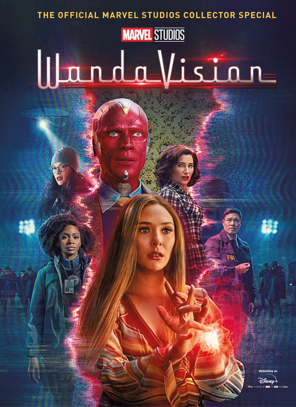 WandaVision-Hardback-Cover ComicList Previews: MARVEL STUDIOS' WANDAVISION THE OFFICIAL COLLECTOR'S SPECIAL
