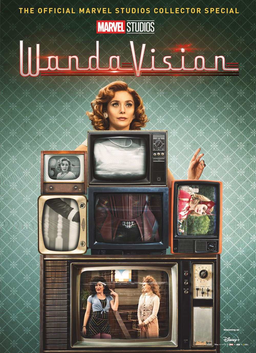 WandaVision_ComicStore_Exclusive_Cover ComicList Previews: MARVEL STUDIOS' WANDAVISION THE OFFICIAL COLLECTOR'S SPECIAL