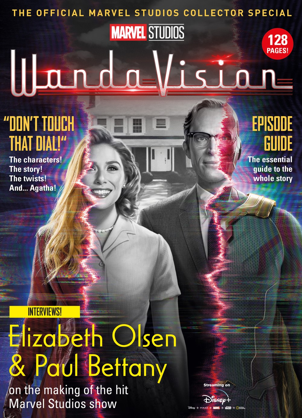 WandaVision_Newsstand_Cover ComicList Previews: MARVEL STUDIOS' WANDAVISION THE OFFICIAL COLLECTOR'S SPECIAL