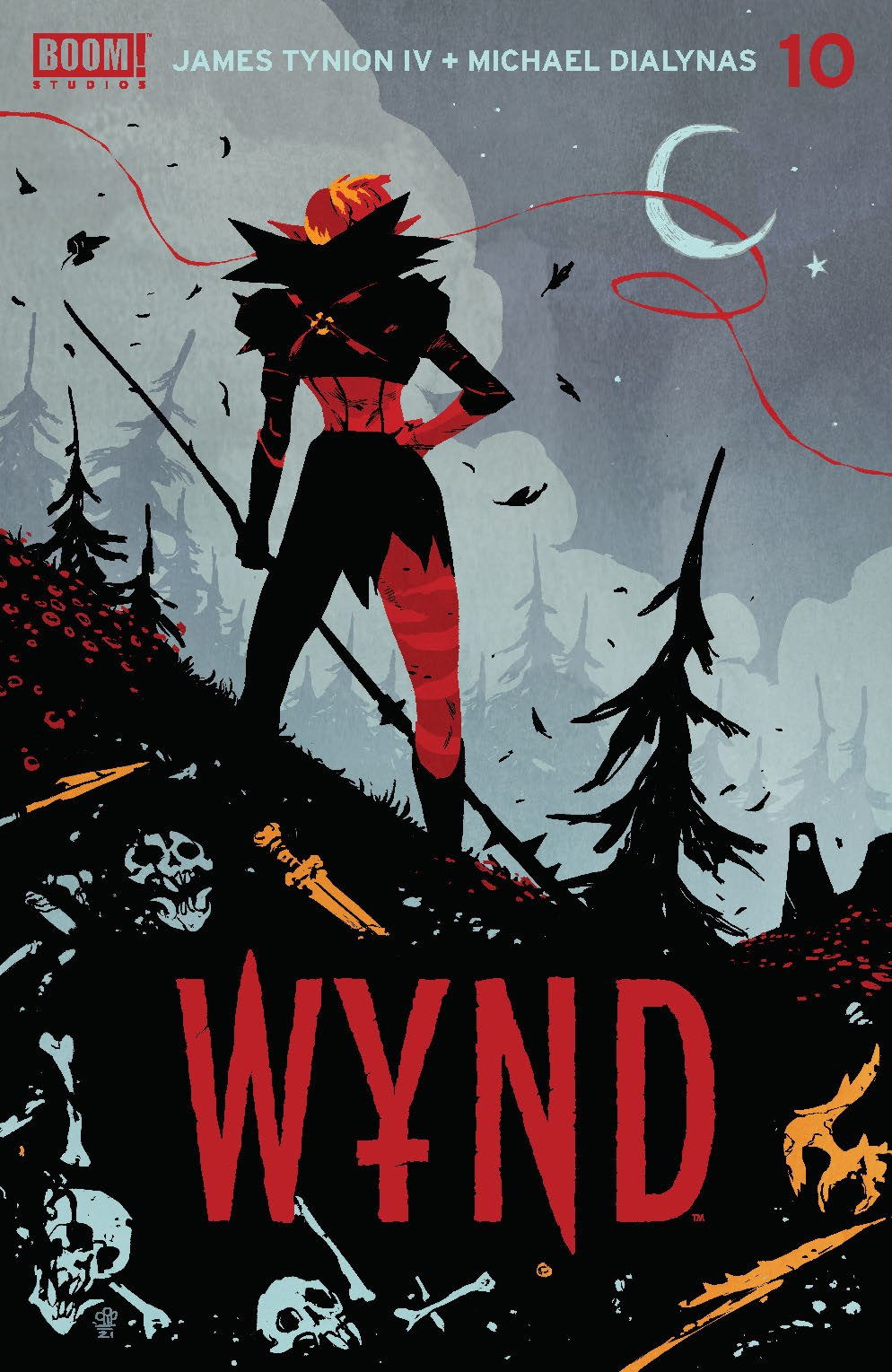 Wynd_010_Cover_A_Main ComicList: BOOM! Studios New Releases for 09/15/2021