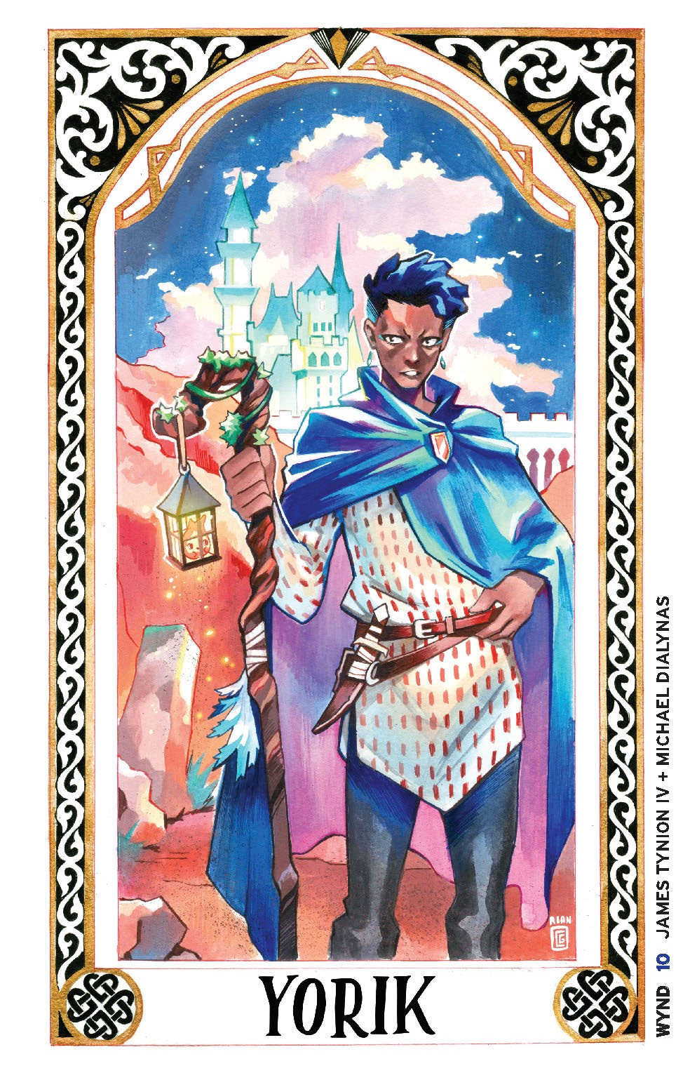 Wynd_010_Cover_B_Tarot ComicList: BOOM! Studios New Releases for 09/15/2021