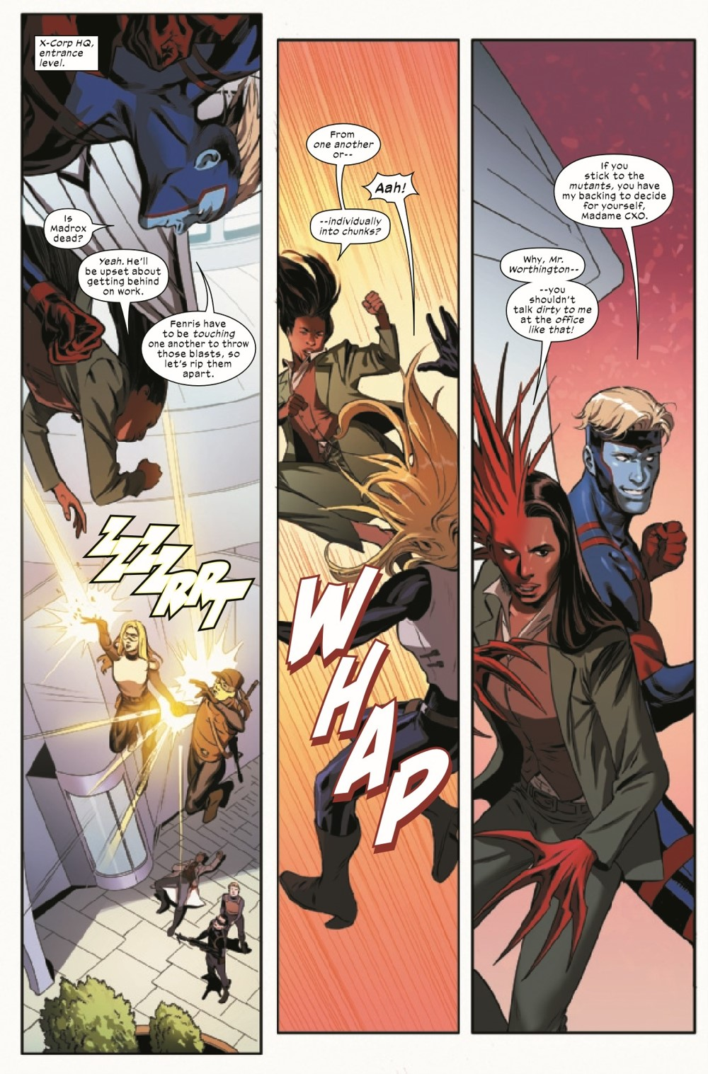 XCORP2021005_Preview-4 ComicList Previews: X-CORP #5
