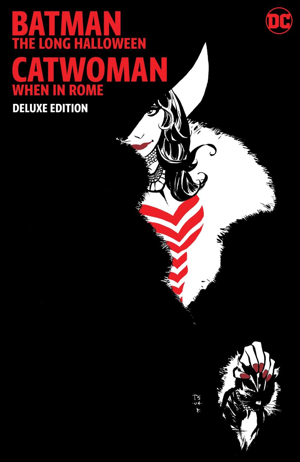 batmanlonghalloweencatwomanwheninrome-dlx DC Comics December 2021 Solicitations
