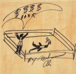 "image-16-300x292 ""The Greatest"": Muhammad Ali's Art hits Bonhams Auction House"
