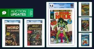 101321C-300x157 Comic Auction Updates 10/12: Black Cat Collection & Superman #1
