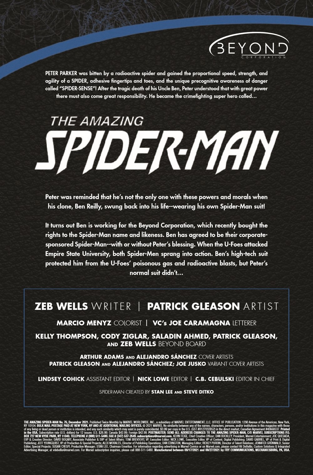 ASM2018076_Preview-2 ComicList Previews: AMAZING SPIDER-MAN #76