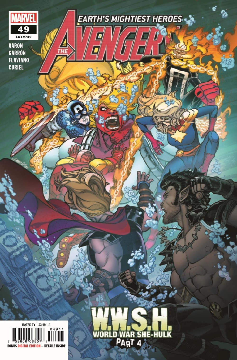 AVEN2018049_Preview-1 ComicList Previews: AVENGERS #49