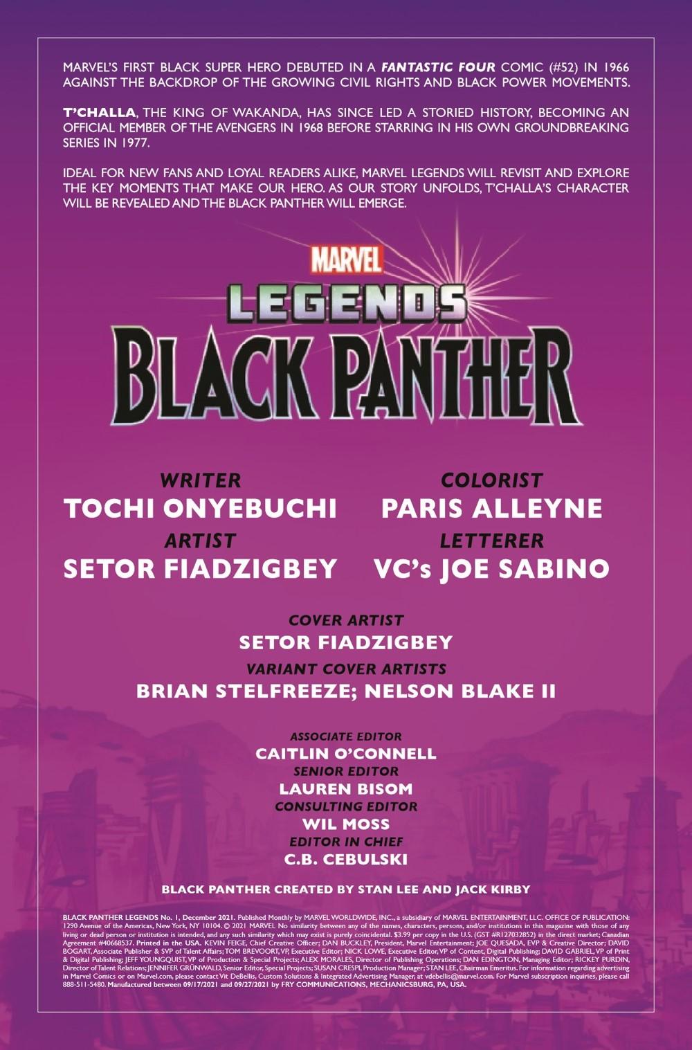 BLAPLEG2021001_Preview-2 ComicList Previews: BLACK PANTHER LEGENDS #1 (OF 4)