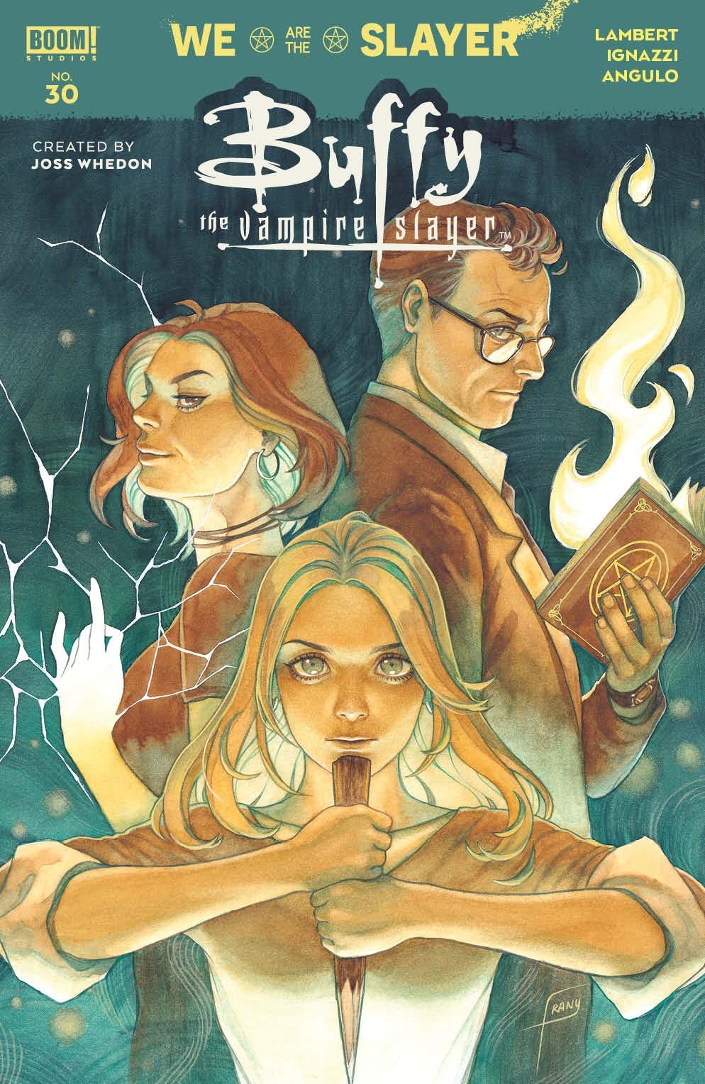 Buffy_030_Cover_A_Main ComicList Previews: BUFFY THE VAMPIRE SLAYER #30