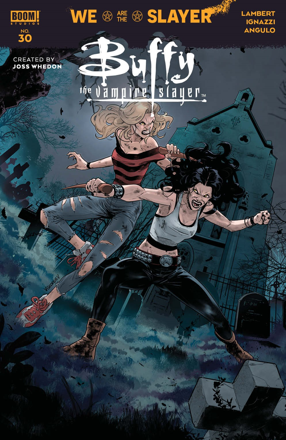 Buffy_030_Cover_B_Variant_Multiversus ComicList Previews: BUFFY THE VAMPIRE SLAYER #30