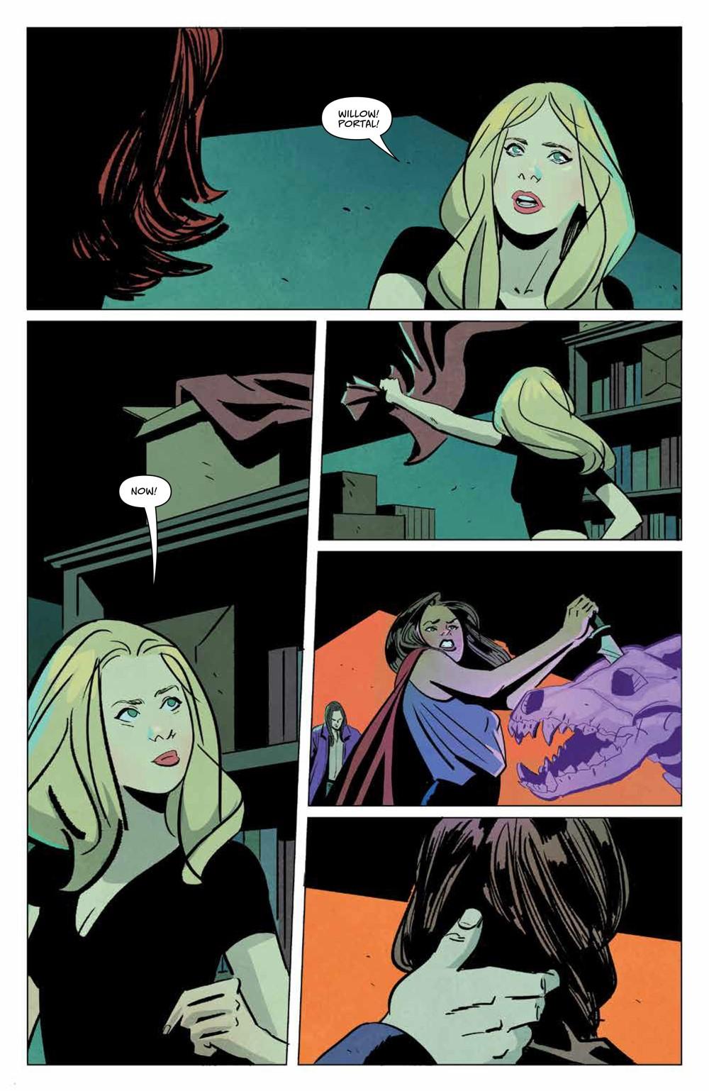 Buffy_030_PRESS_7 ComicList Previews: BUFFY THE VAMPIRE SLAYER #30