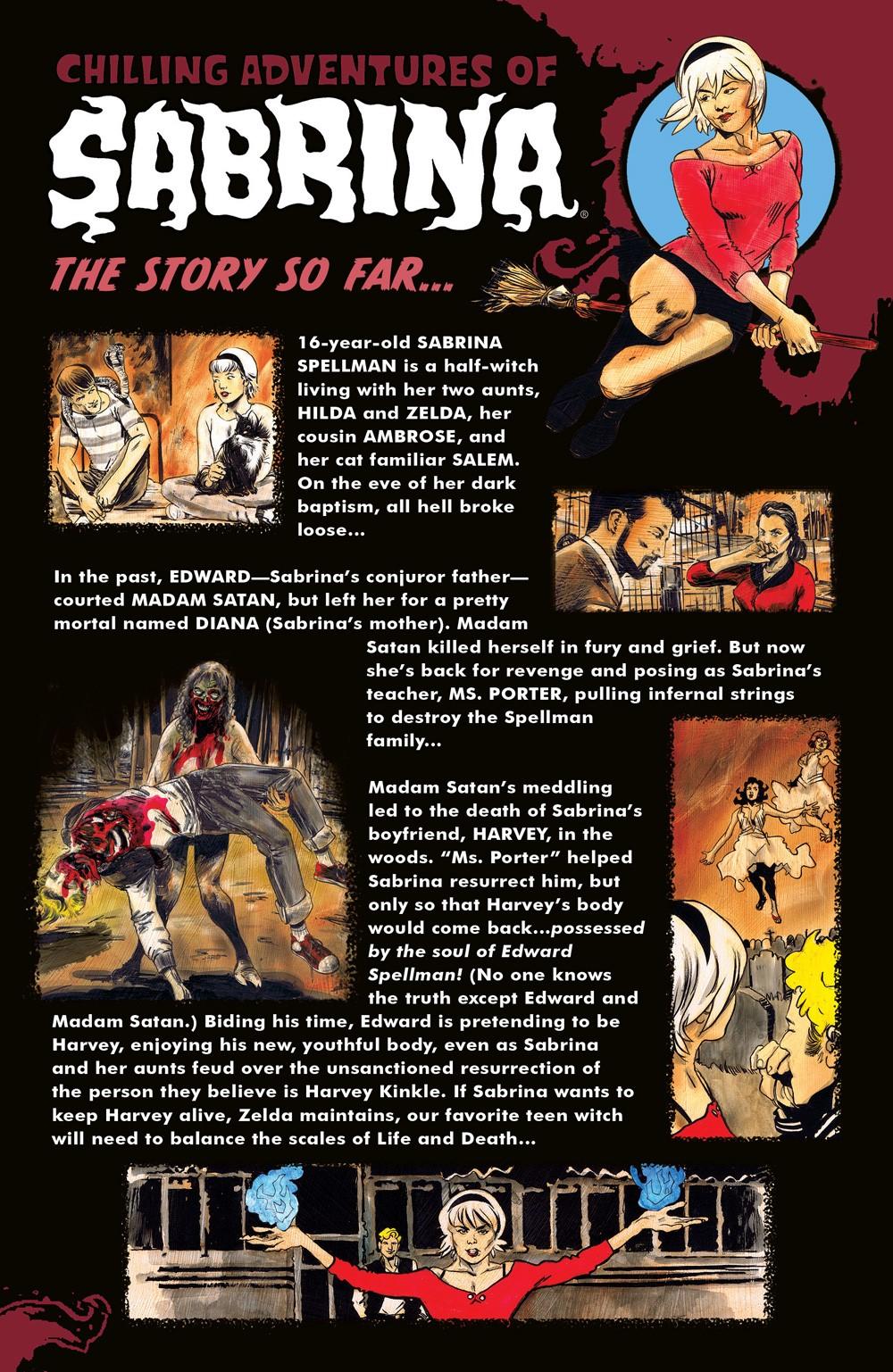 CAOS_Intro_PR ComicList Previews: CHILLING ADVENTURES OF SABRINA #9