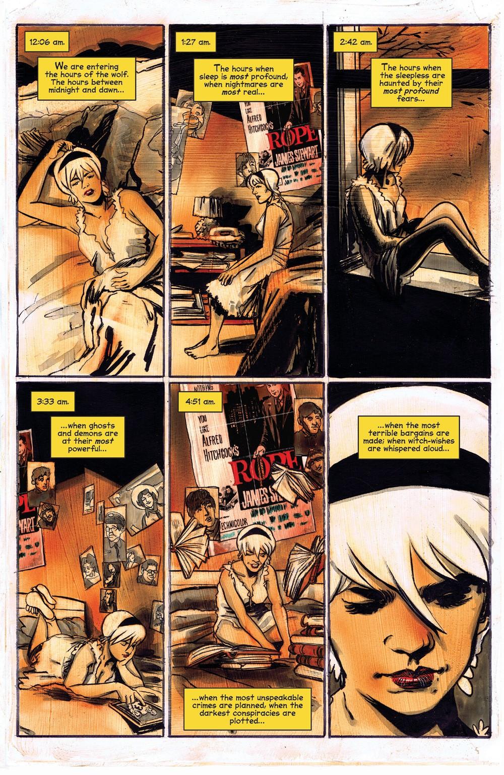ChillingAdventuresOfSabrina_09-01 ComicList Previews: CHILLING ADVENTURES OF SABRINA #9