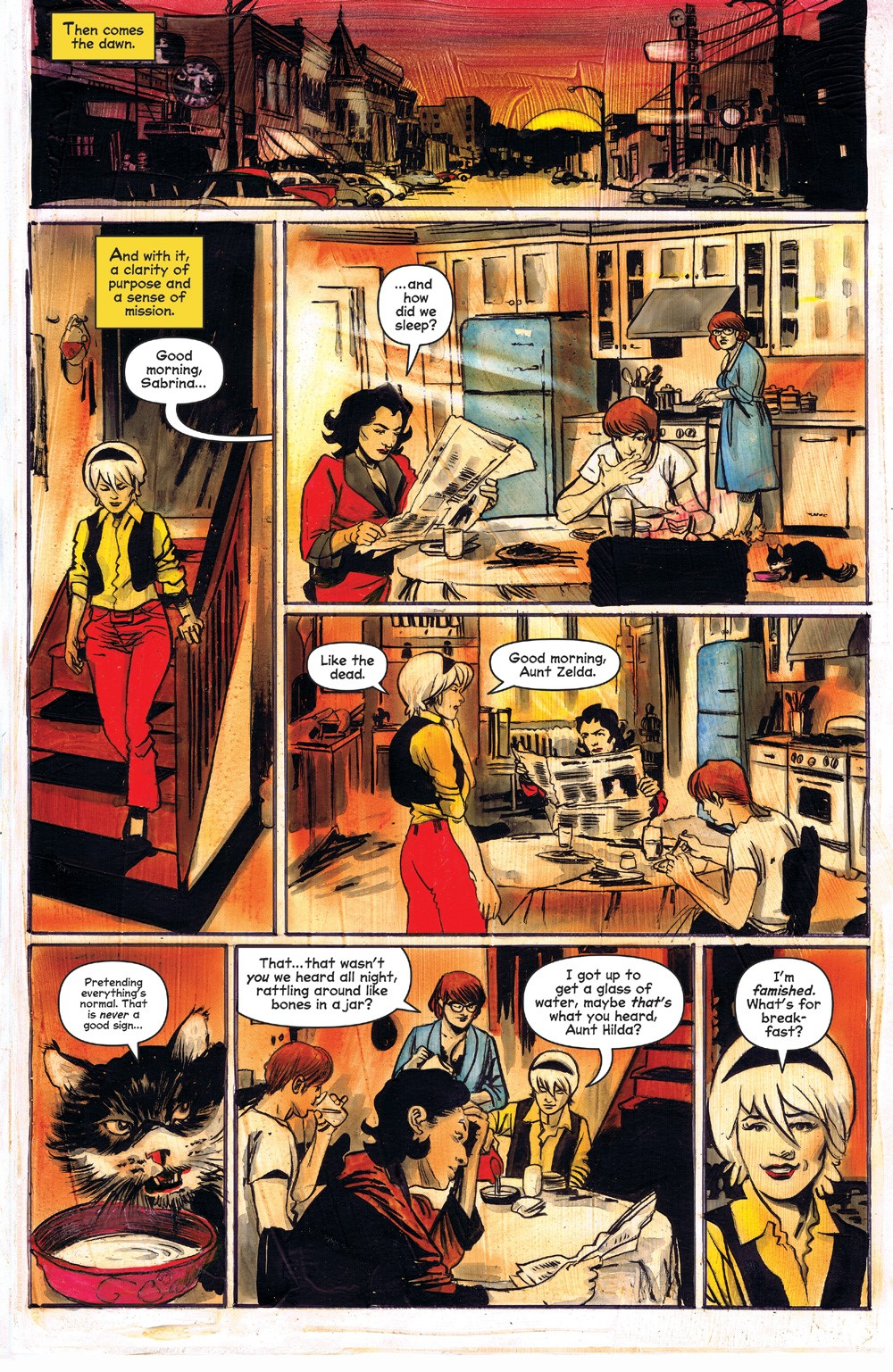 ChillingAdventuresOfSabrina_09-02 ComicList Previews: CHILLING ADVENTURES OF SABRINA #9