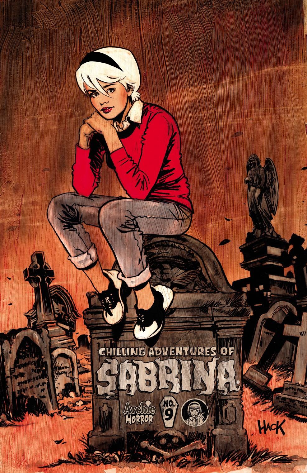 ChillingAdventuresOfSabrina_09_CoverB_Hack ComicList Previews: CHILLING ADVENTURES OF SABRINA #9