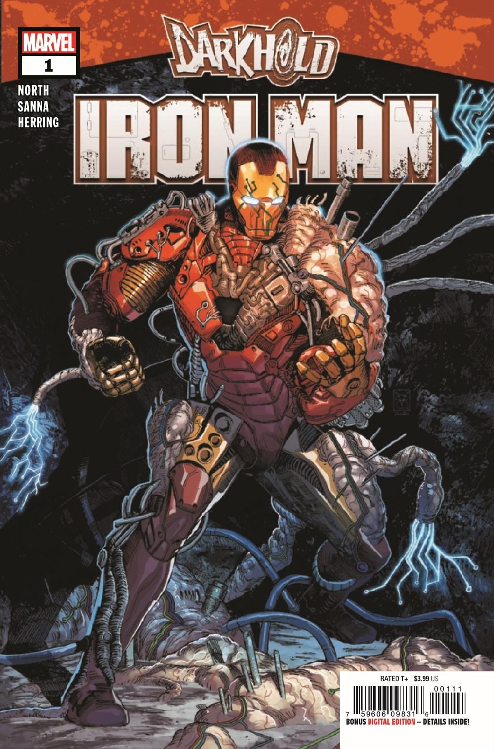 DARKHOLDIM2021001_Preview-1 ComicList Previews: DARKHOLD IRON MAN #1