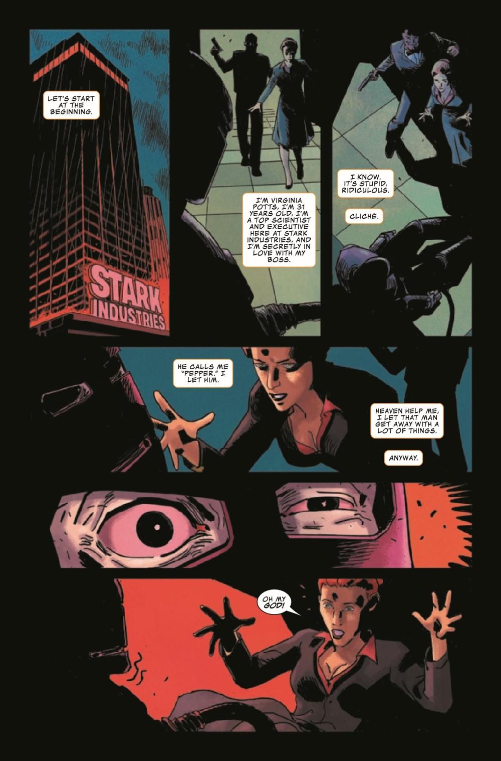 DARKHOLDIM2021001_Preview-3 ComicList Previews: DARKHOLD IRON MAN #1