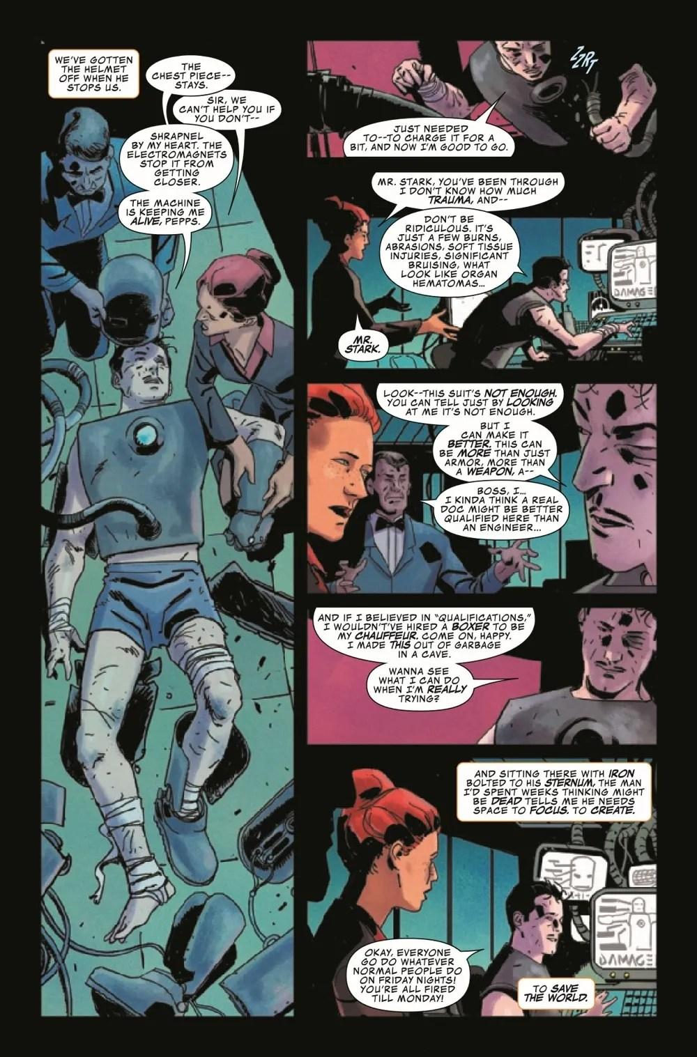 DARKHOLDIM2021001_Preview-5 ComicList Previews: DARKHOLD IRON MAN #1
