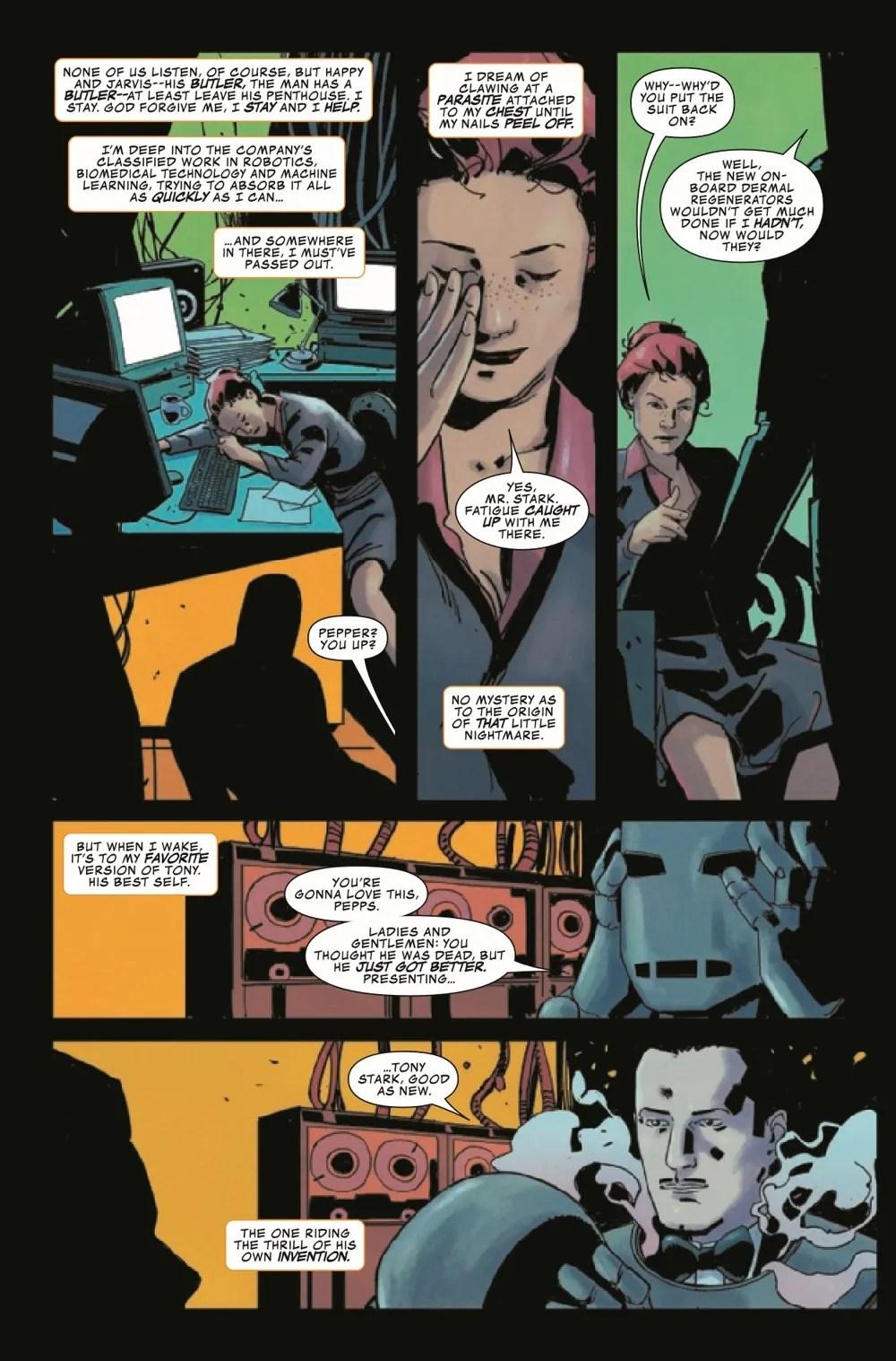 DARKHOLDIM2021001_Preview-6 ComicList Previews: DARKHOLD IRON MAN #1