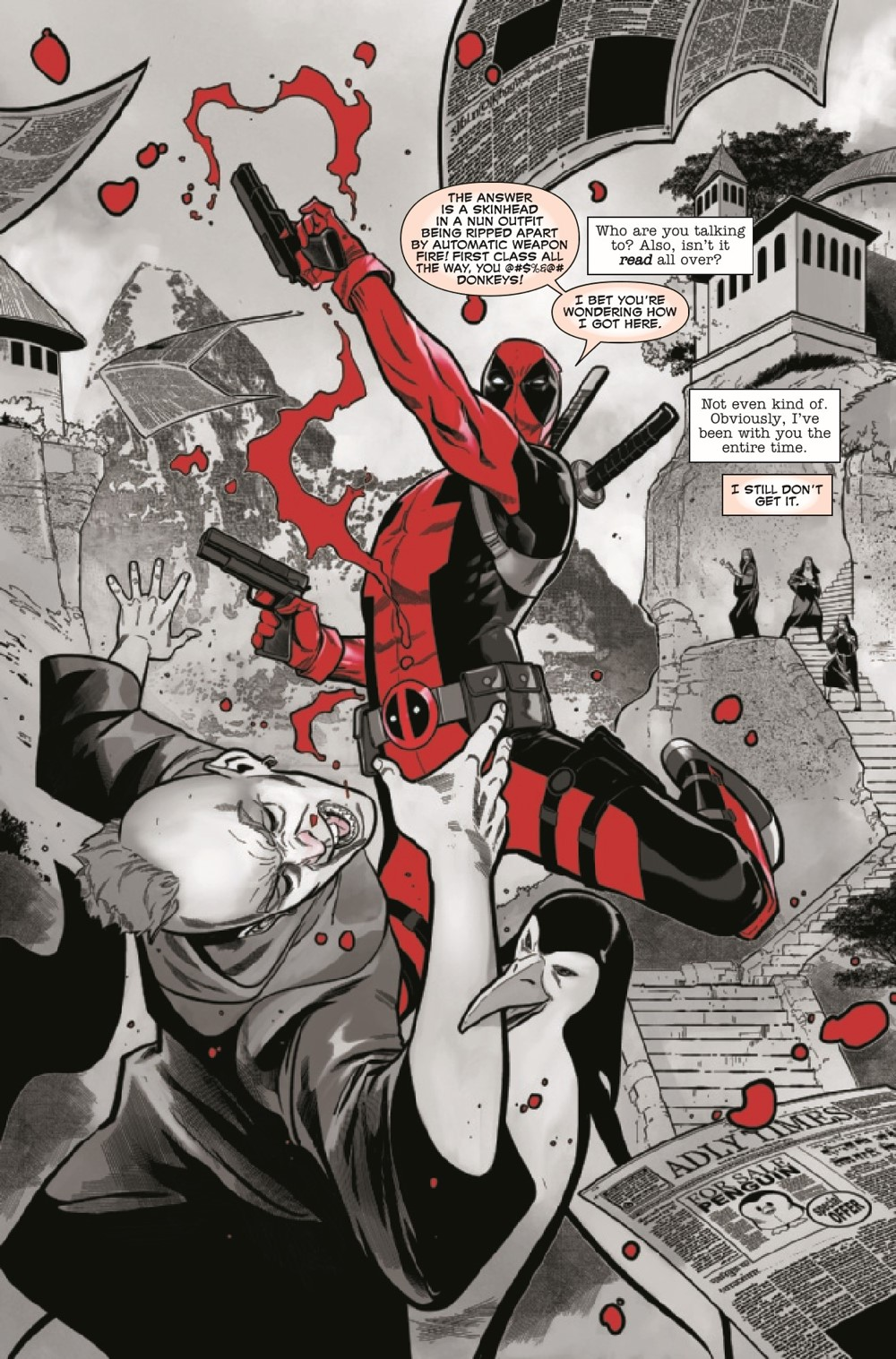 DPOOLBLKWHBL2021003_Preview-4 ComicList Previews: DEADPOOL BLACK WHITE AND BLOOD #3 (OF 4)