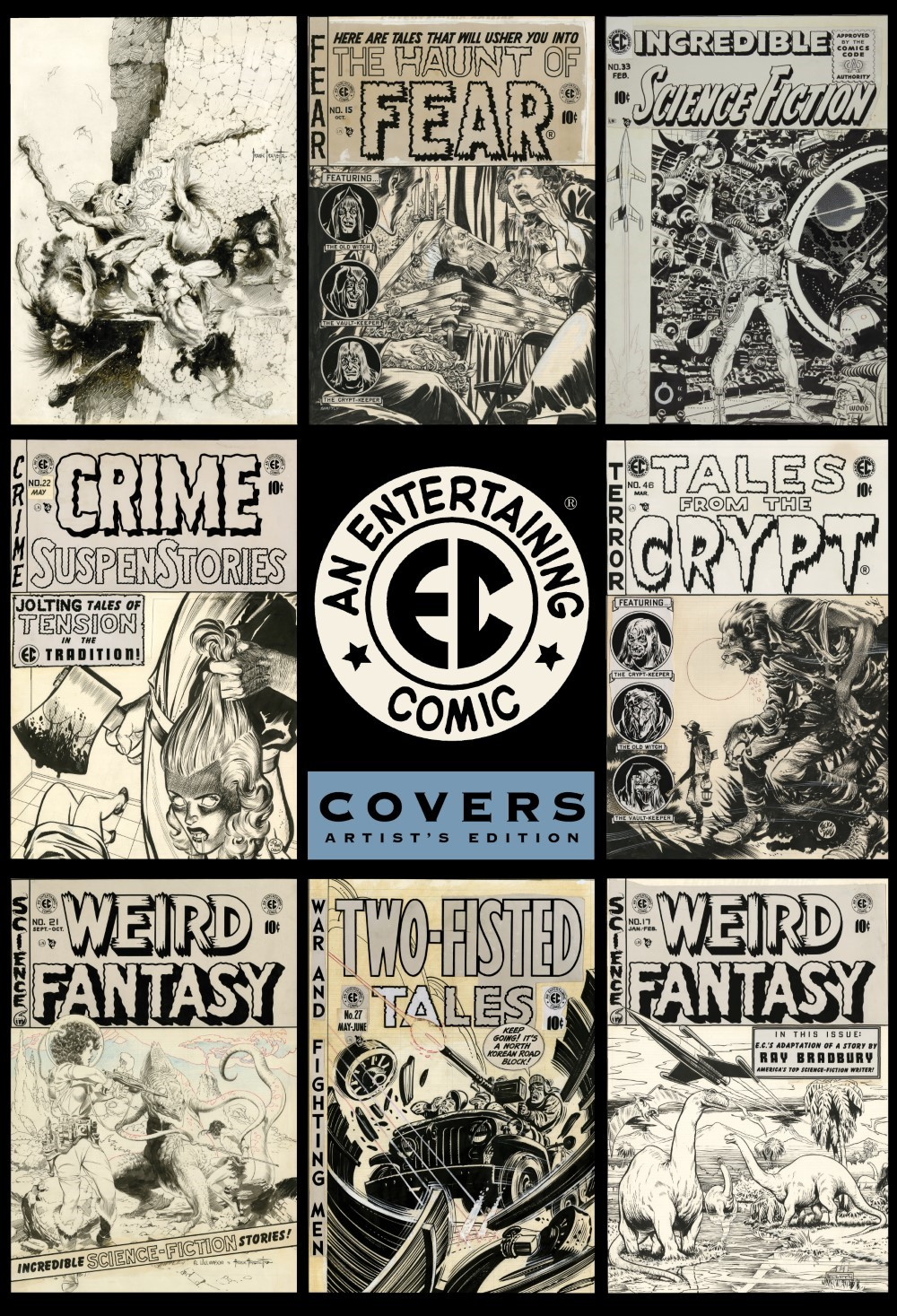 ECArtists_pr-1 ComicList Previews: EC COVERS ARTIST'S EDITION HC