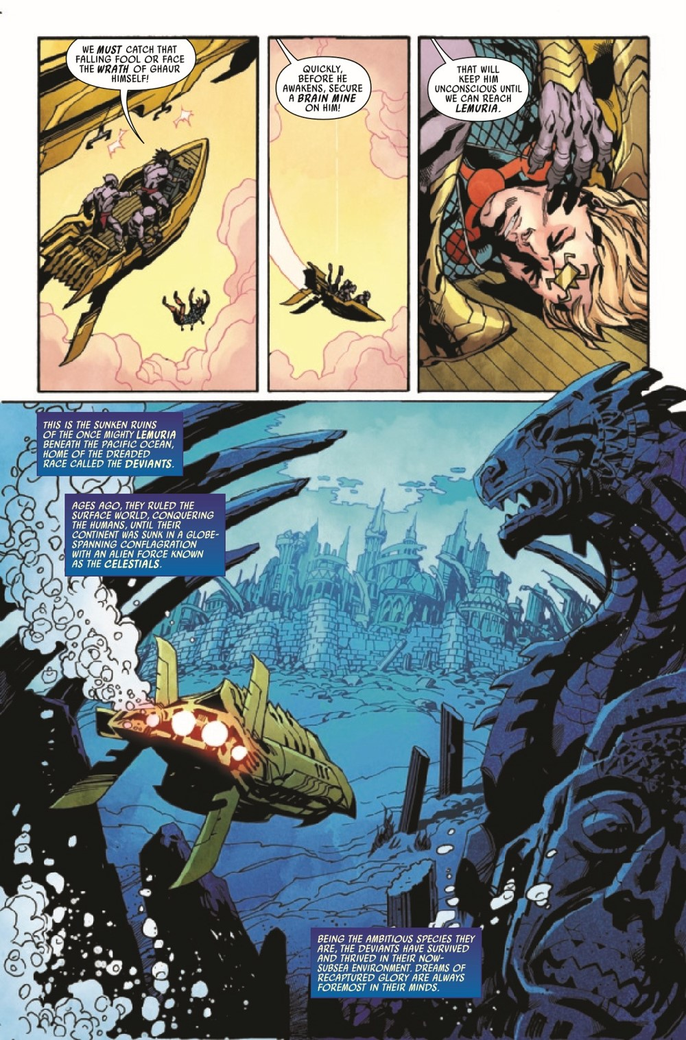 ETRNLSFOREVER2021001_Preview-4 ComicList Previews: ETERNALS FOREVER #1