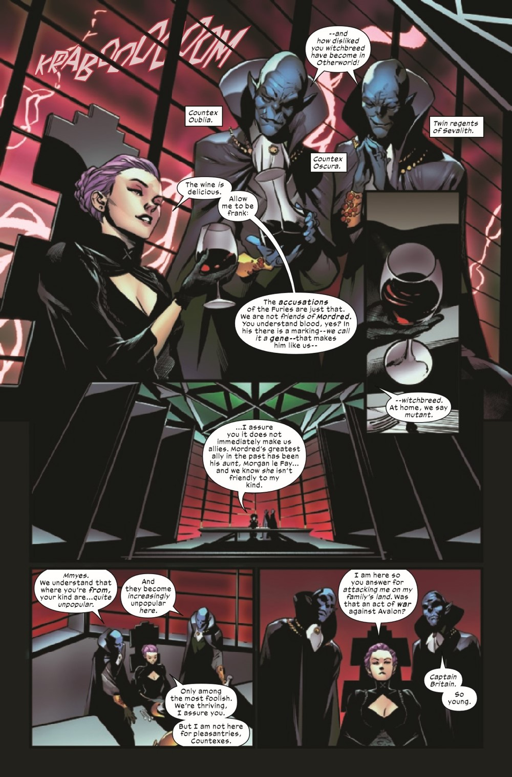 EXCAL2019024_Preview-3 ComicList Previews: EXCALIBUR #24