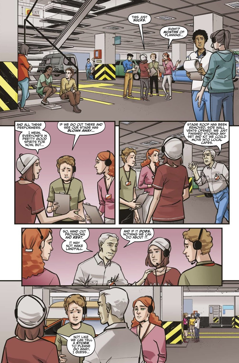 LIS-Settling-Dust-Page-1 ComicList Previews: LIFE IS STRANGE SETTLING DUST #1 (OF 4)