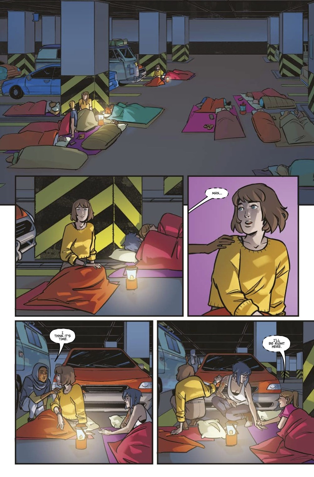 LIS-Settling-Dust-Page-4 ComicList Previews: LIFE IS STRANGE SETTLING DUST #1 (OF 4)