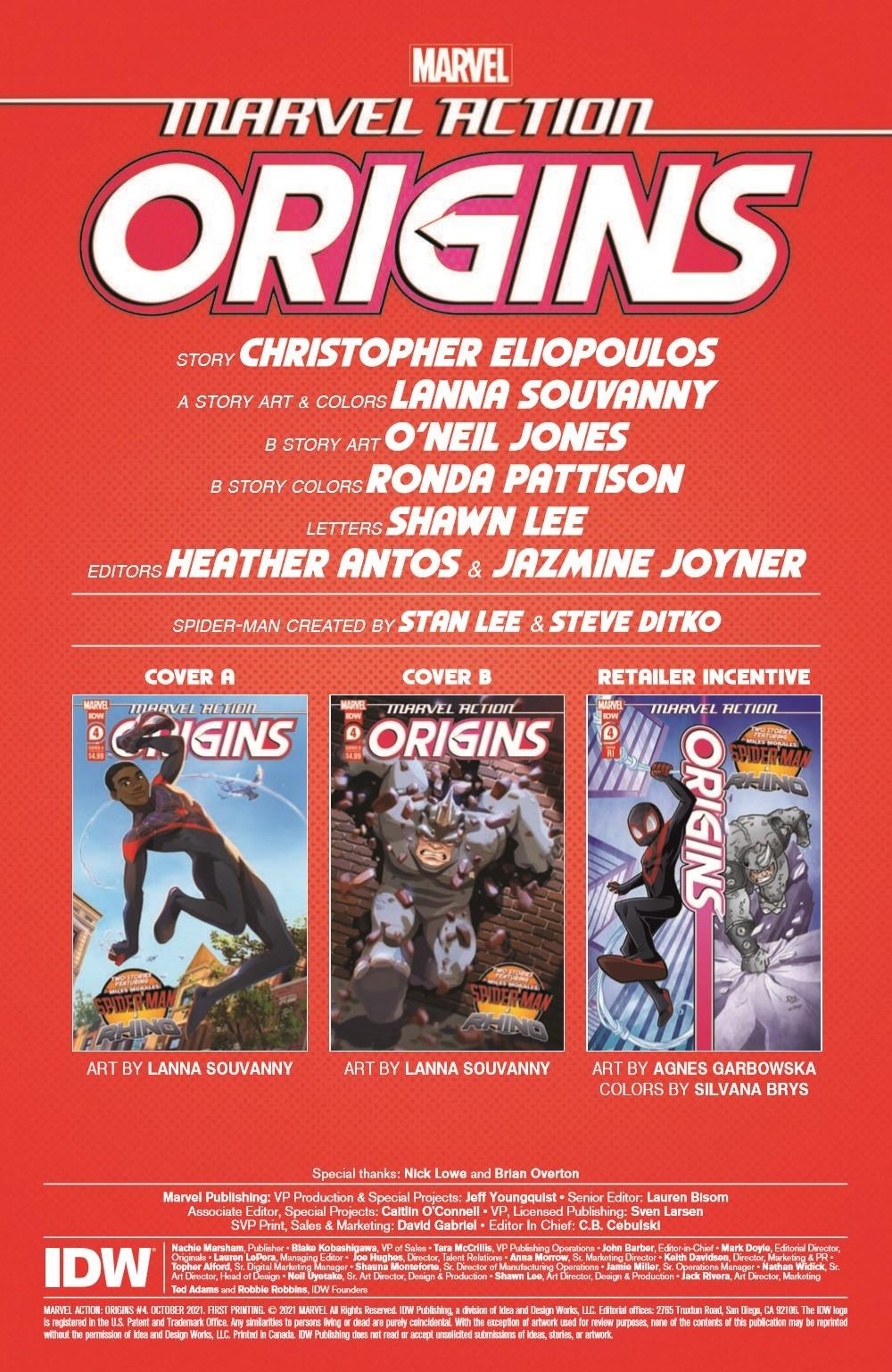 MA-Origins04_pr-2 ComicList Previews: MARVEL ACTION ORIGINS #4 (OF 5)