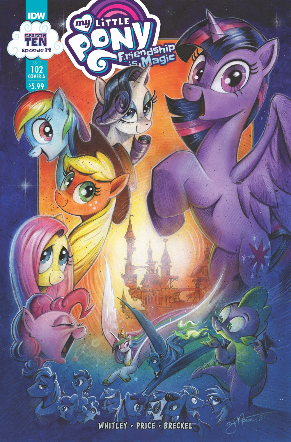 MLP102_14-coverA ComicList: IDW Publishing New Releases for 10/13/2021