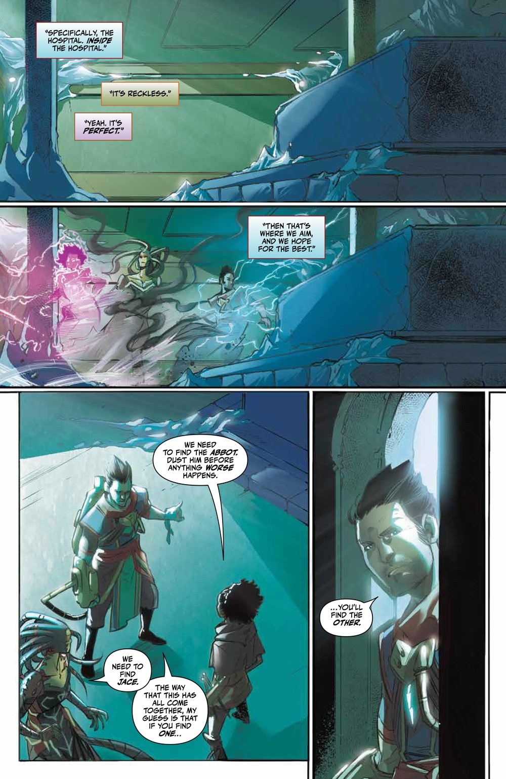 Magic_007_PRESS_6 ComicList Previews: MAGIC #7