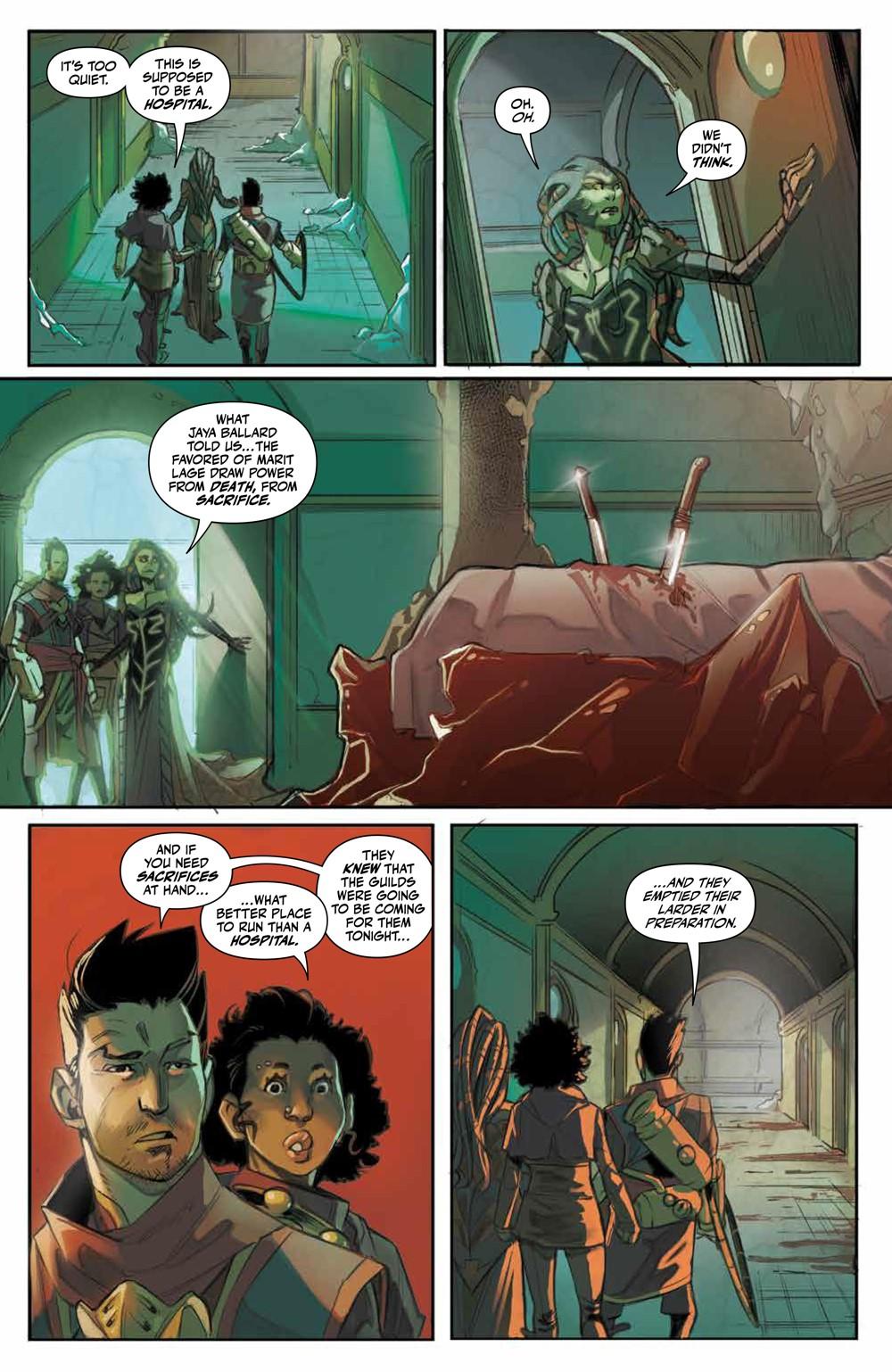 Magic_007_PRESS_7 ComicList Previews: MAGIC #7