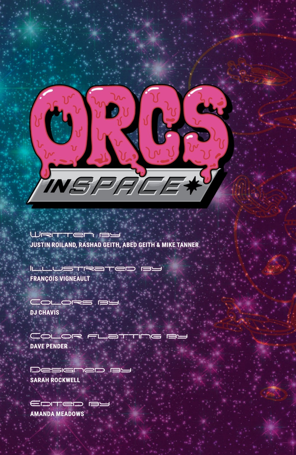 ORCSINSPACE-V1-REFERENCE-003 ComicList Previews: ORCS IN SPACE VOLUME 1 TP