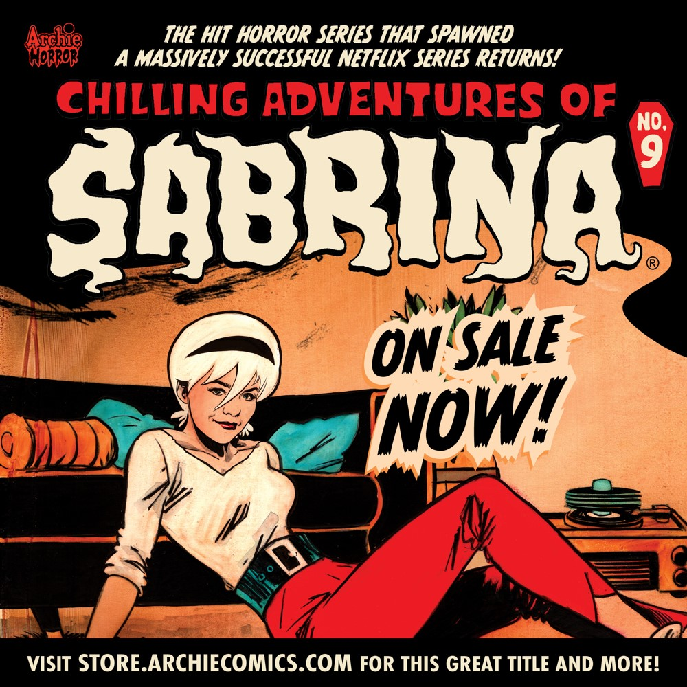 Preorder_Graphic_OCT_2021_OSN_04 ComicList Previews: CHILLING ADVENTURES OF SABRINA #9