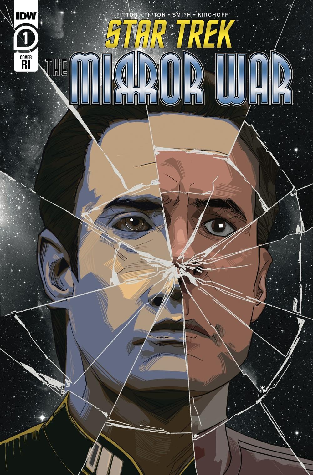 ST_TMW01-coverRI ComicList Previews: STAR TREK THE MIRROR WAR #1