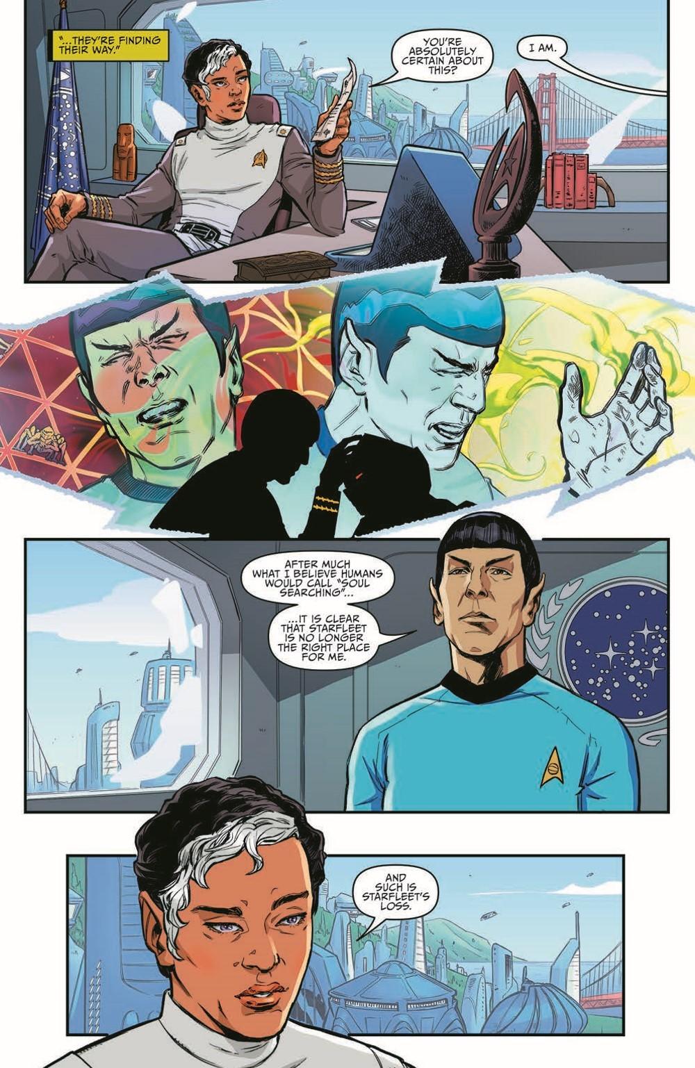 ST_YearFive25-pr-7 ComicList Previews: STAR TREK YEAR FIVE #25