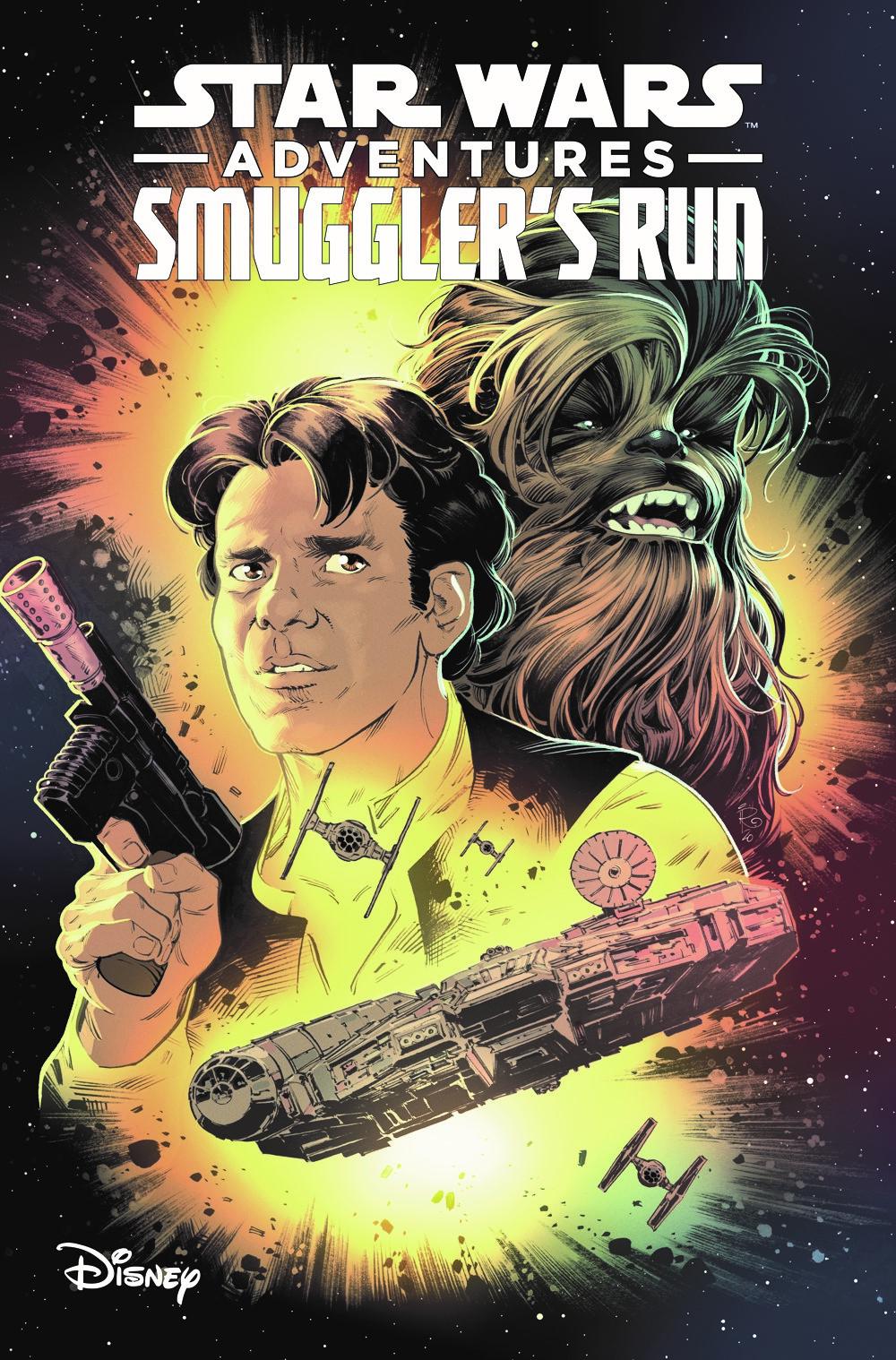 SWASmugglersRun-TPB-white ComicList Previews: STAR WARS ADVENTURES SMUGGLER'S RUN TP