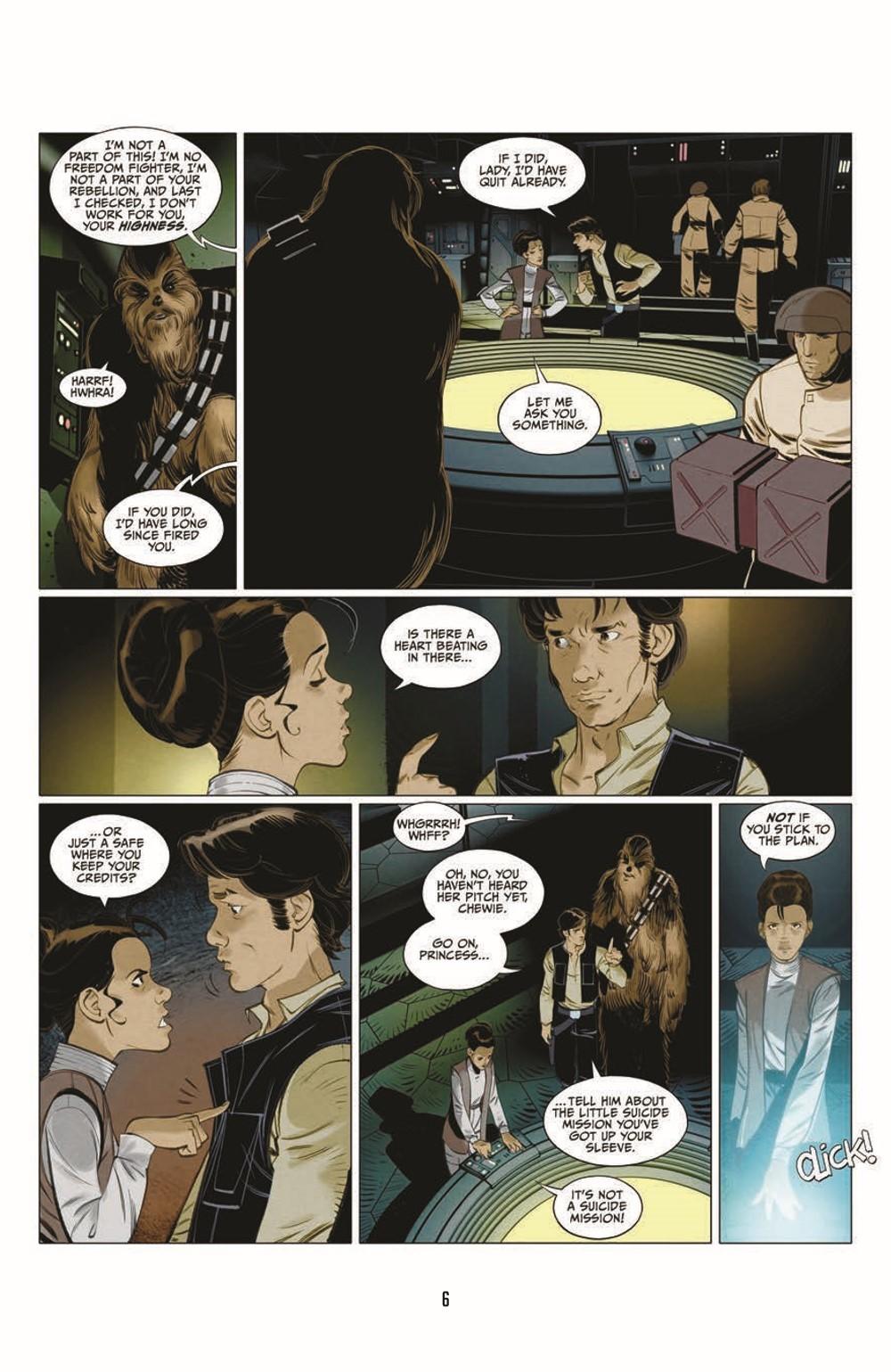 SWA_Smugglers-Run_pr-4 ComicList Previews: STAR WARS ADVENTURES SMUGGLER'S RUN TP