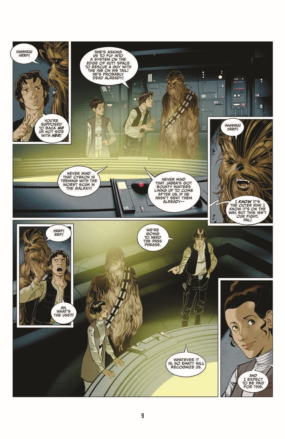SWA_Smugglers-Run_pr-7 ComicList Previews: STAR WARS ADVENTURES SMUGGLER'S RUN TP