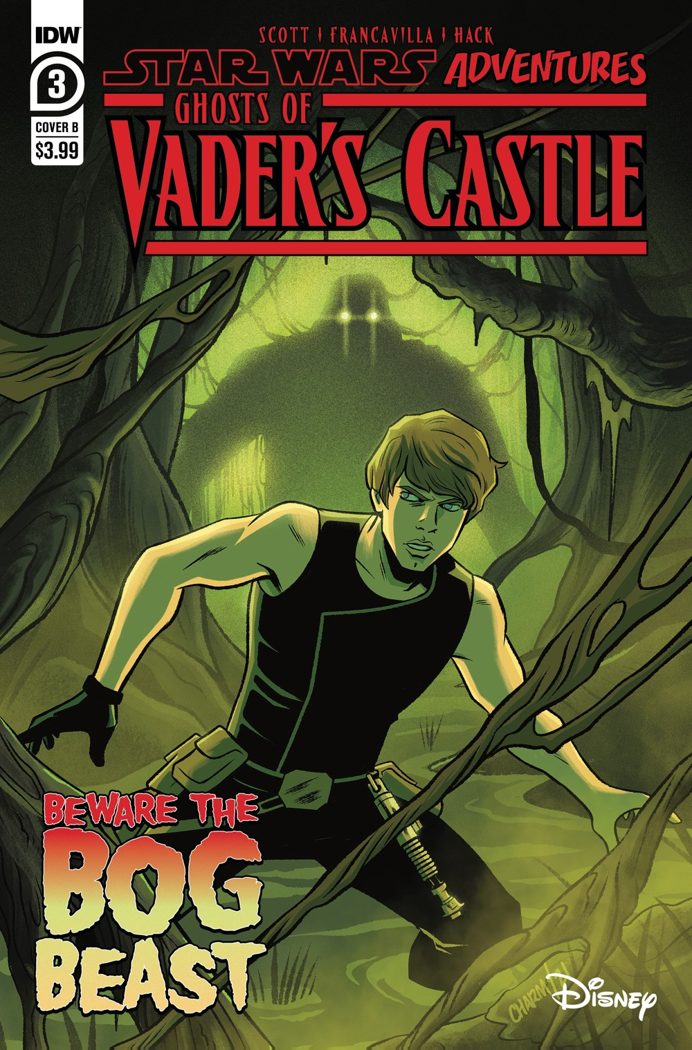 SW_GoVC03-CvrB ComicList Previews: STAR WARS ADVENTURES GHOST OF VADER'S CASTLE #3 (OF 5)