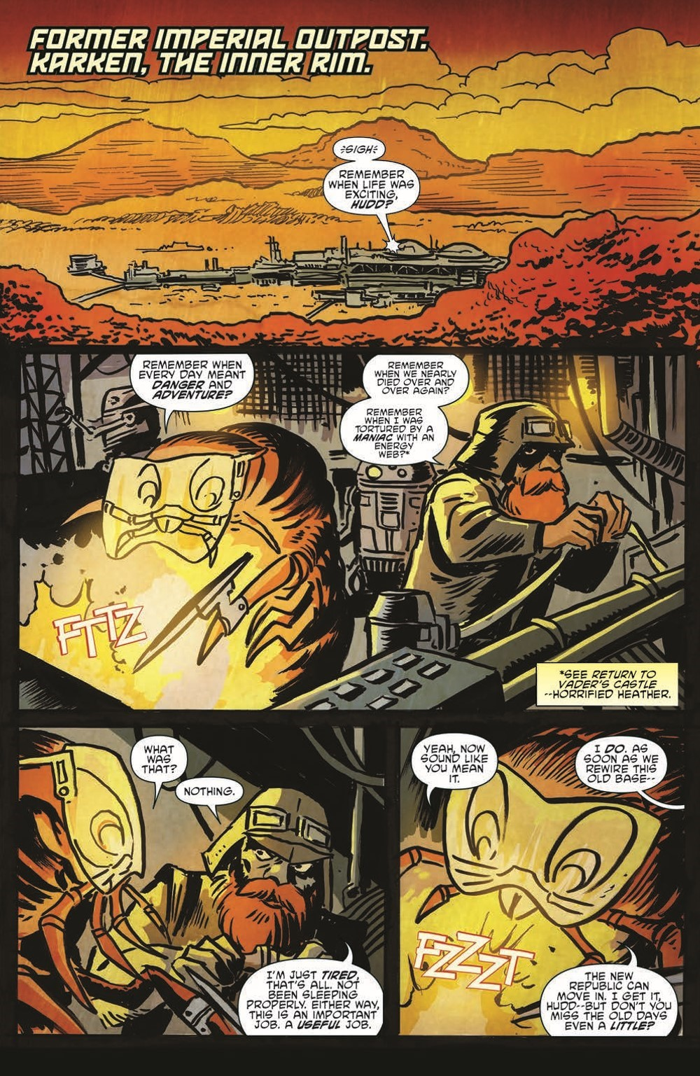 SW_GoVC03_pr-3 ComicList Previews: STAR WARS ADVENTURES GHOST OF VADER'S CASTLE #3 (OF 5)