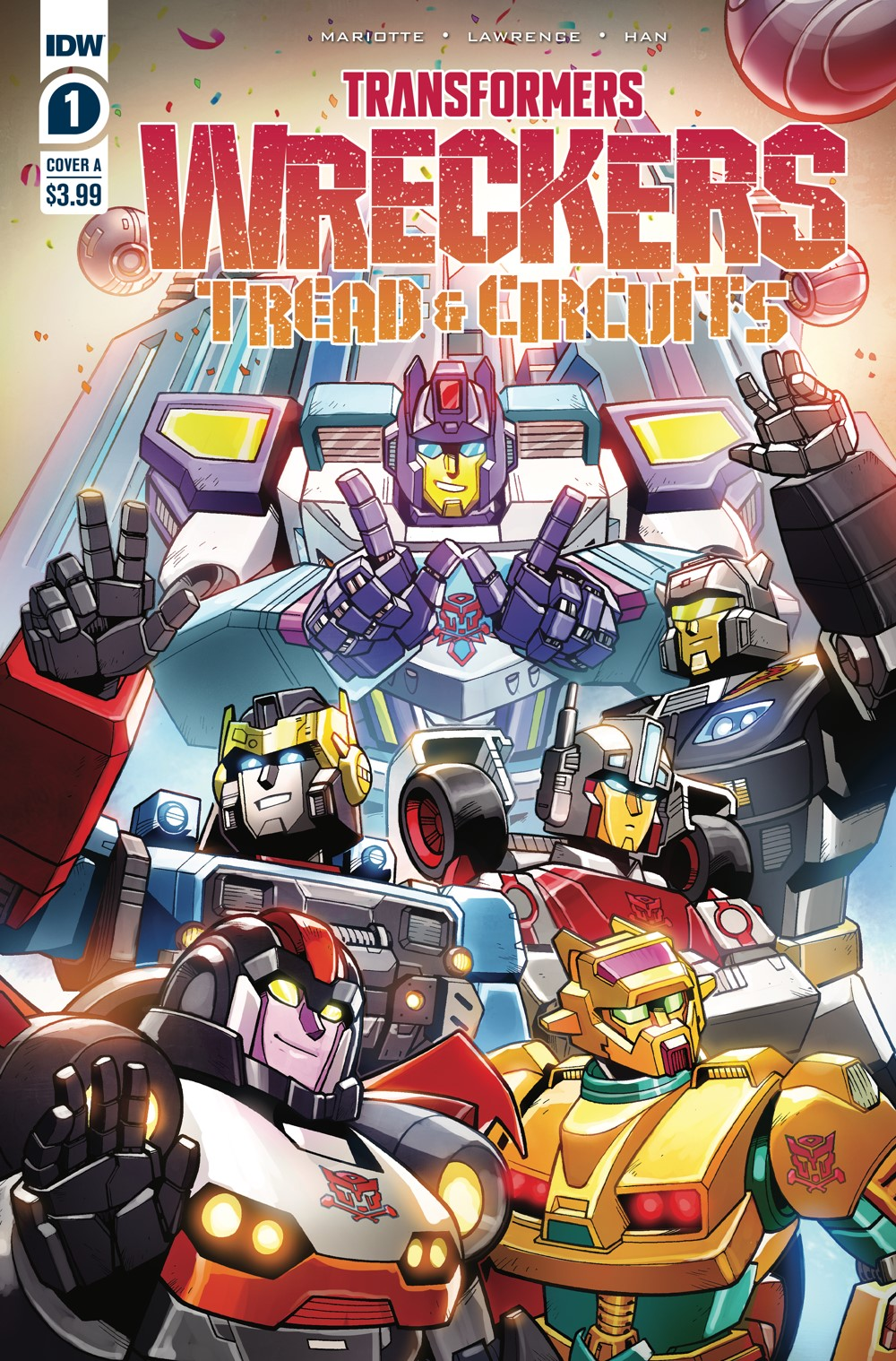 TF-Wreckers-TnC01_cvrA ComicList Previews: TRANSFORMERS WRECKERS TREAD AND CIRCUITS #1 (OF 4)