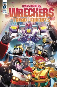 TF-Wreckers-TnC01_cvrA-198x300 ComicList Previews: TRANSFORMERS WRECKERS TREAD AND CIRCUITS #1 (OF 4)