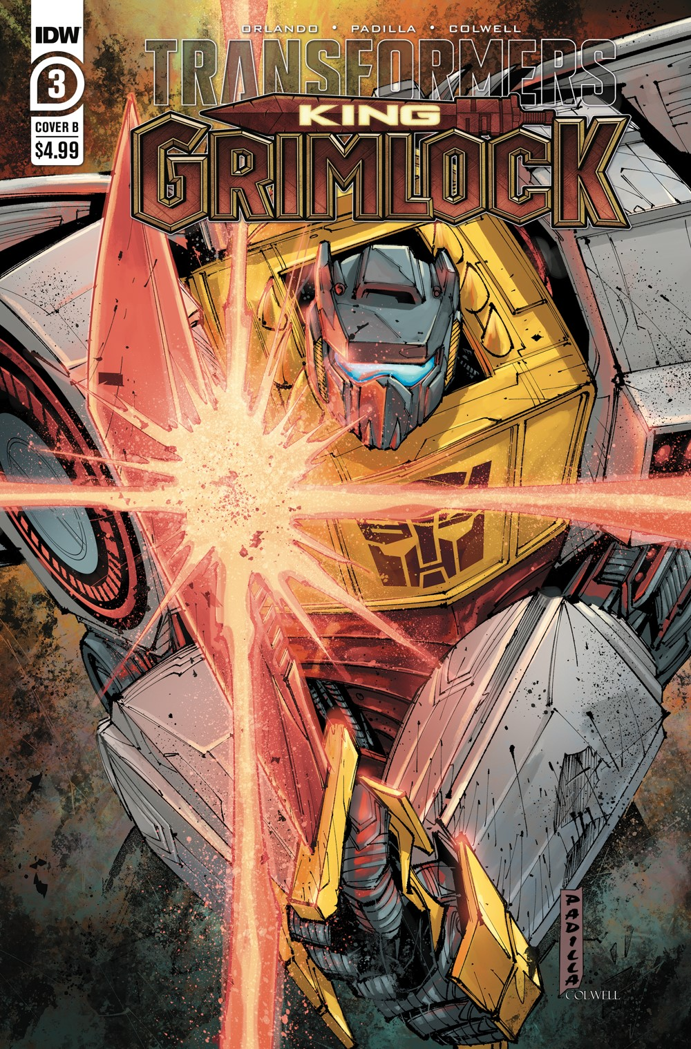 TFGrimlock-03-Cover-B ComicList: IDW Publishing New Releases for 10/13/2021